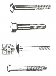 Hot Dipped Galvanized Fasteners